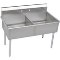 Stainless Steel Two Sink