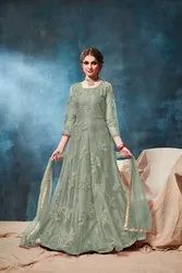 Pr Fashion Launched Festive Season Heavy Designer Floor Length Suit