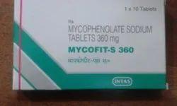 Mycophenolate Sodium Mycofit S Tablet