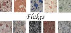 White BSC Flakes Texture