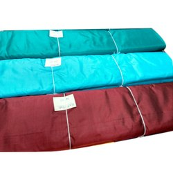 Embroidery Rishabh Silk Centre Plain Pure Silk Fabric