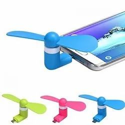 Mini USB OTG Fan with Micro Pin for Tablet/Android Smartphone, Mobile fan, v8 usb mobile fan