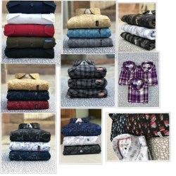 Collar Neck Branded Printed Casual Shirts