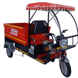 Battery Operated E Rickshaw Loader