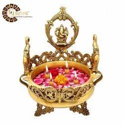 Ur Astro Home Brass Decorative Urli