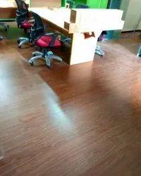 Wood Color PVC Flooring Services