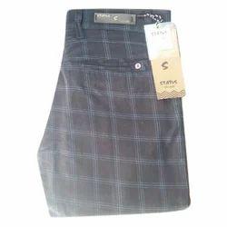Status 28- 36 Cm Men's Checked Formal Trouser