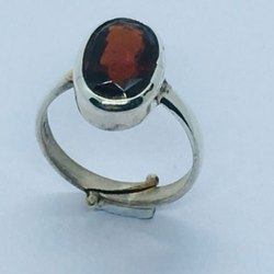 Hessonite Garnet Gomed Ring