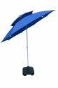 Garden Umbrella-8' Tiltable-Double Layer-Blue