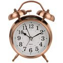 Bell Alarm Clock With Light (8820) Copper (Size 16cm  12 Cm  6 Cm )