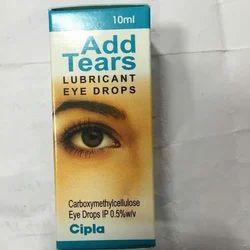 Cipla Add Tears Lubricant Eye Drops, Conjunctivitis