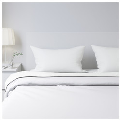 Hotel Cotton Plain White Bed Sheet