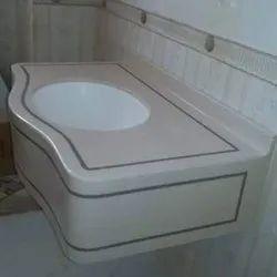 Ceramic Wall Hung Rectangular Bathroom Basin