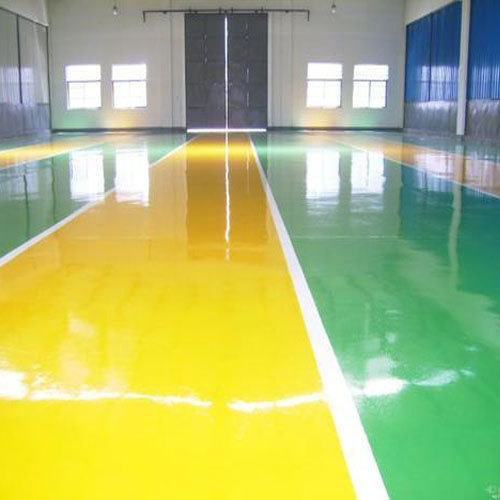Epoxy Floor Paint इपॉक्सी फ्लोर पैंट At Rs 500 Litre