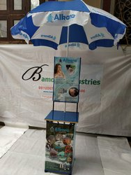 Cross Table Tent with Umbrella
