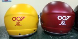 Female Half Helmet OO7 Half Face Helmet, for Driving, Size: Universal Size