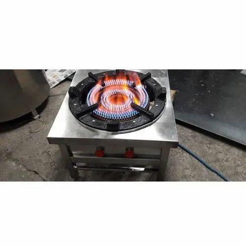 Two Ring Burner Cooking Range