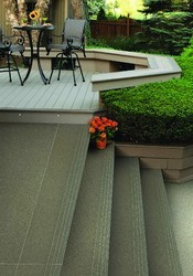 Porcelain Vitrified Stair Tiles, Size: Large