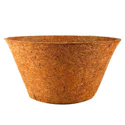 Brown Flower Pot