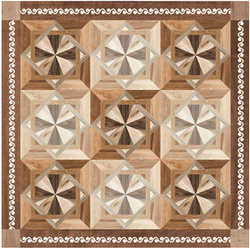 Walnut Art Ceramic Floor Tiles