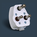 16 Amp 3 Pin Plug Top