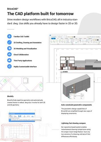 BricsCAD for CAD Drafting & BricsCAD For CAD Draftings