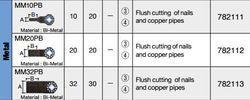 Metal Multi Tool Blade