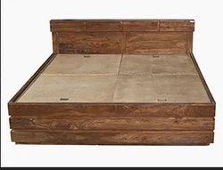 Godrej Brown Grande King Box Bed