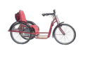 Hand Driven Battery Operated Tricycle