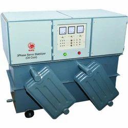 3 Phase Oil Cooled Servo Stabilizer, Capacity: 1 - 20 kVA