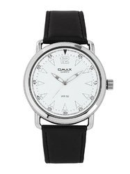 Omax Analog White Dial Unisex's Watch - TS118