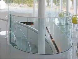 Transparent Curved Glass Bent Toughen Glass