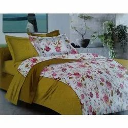 Flower Cotton Bed Sheet