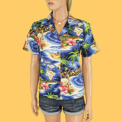 8c969da3 Ladies Stylish Hawaiian Printed Shirt, Size: S, M & L, Rs 400 /piece ...