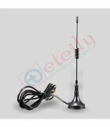 GSM 3dbi Magnetic Antenna with RG174Cable 1M