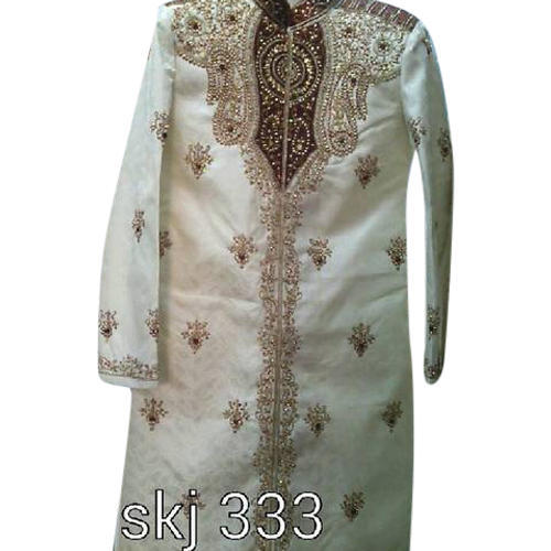 Embroidered Wedding Sherwani