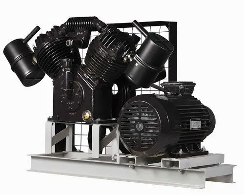 5 Hp High Pressure Compressor With Motor