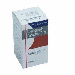 Lenangio 10 mg (Lenalidomide) Capsules