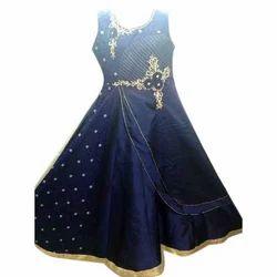 Silk Designer Anarkali Suit