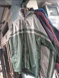 Grey And Green Jacket