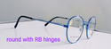 Glaze Iwear Metal Frame With Rb Hinge(Captain Cool)