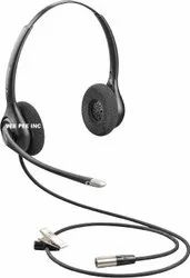 Plantronics HW261N-DC Dual Headset with TA6FLX connector