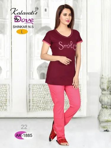 a7df16f0b5d Kalavati By Dove 129 Hosiery Cotton Night Suit at Rs 399  piece ...