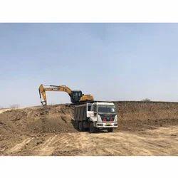 Poclain Excavator Rental Service, Application/Usage: Industrial