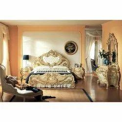 Sheesham wood Brown Wooden Bedroom Set, Warranty: 1 Year, Size: 72x75 Inch
