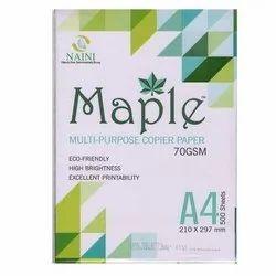 Maple Multipurpose 70 GSM A4 Copier Paper