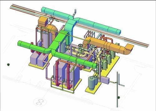 CAD HVAC Shop Drawings in Thaltej, Ahmedabad | ID: 14327283388