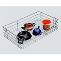 SS Plain Basket For Kitchen