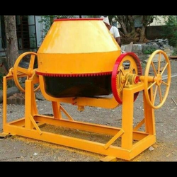 Electric Engine Cement Concrete Mixer, Drum Capacity: 750 L
