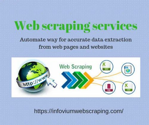 Web Scraping Services in Ahmedabad, Madhupura by Infovium